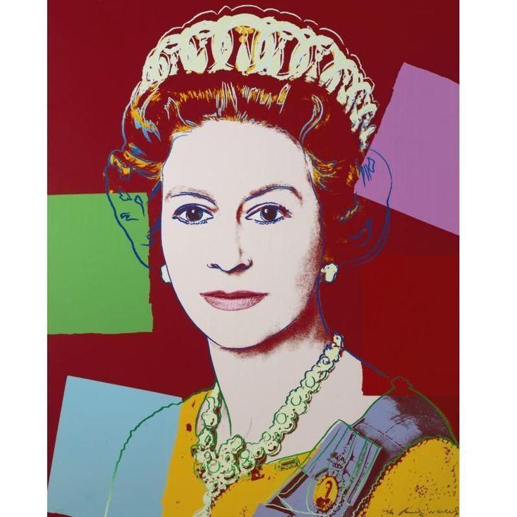 Her Majesty Queen Elizabeth ll by Andy Warhol 1985