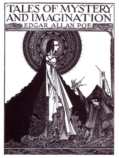 Harry Clarke's Illustrations for Edgar Allan Poe    Irish artist Harry Clarke's illustrations for a 1919 collection of Edgar Allan Poe stories.