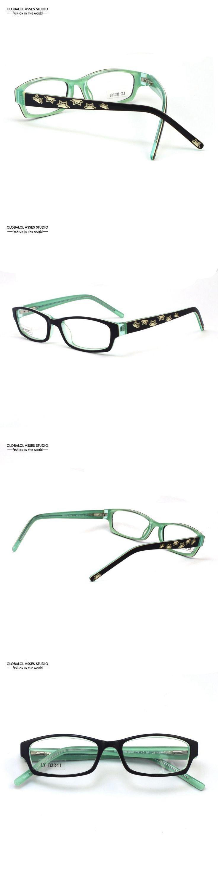 Kids Frames for Girl/Boy Black&Mint Green Lively Star Design for Child/Eyeglasses/Optical Frame/Eyewear LX-B3241