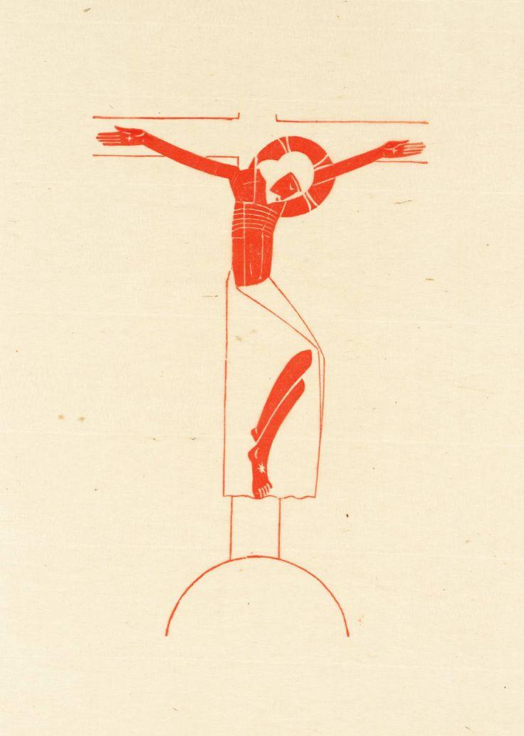 Eric Gill, 'Crucifix' 1917