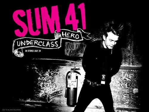 Chord Gitar, Lirik Lagu Dan Download Mp3: Lirik lagu sum41 - Underclass hero