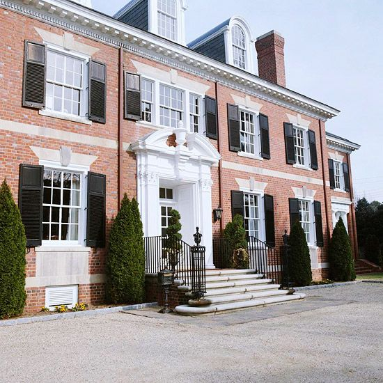 1000 Images About Colonial Revival On Pinterest Front