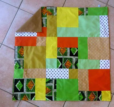 Tutoriel couture : Faire un patchwork facile