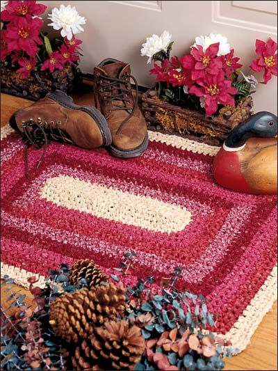 Quick easy rag rugs rugs pinterest rugs and rag rugs for Easy rugs