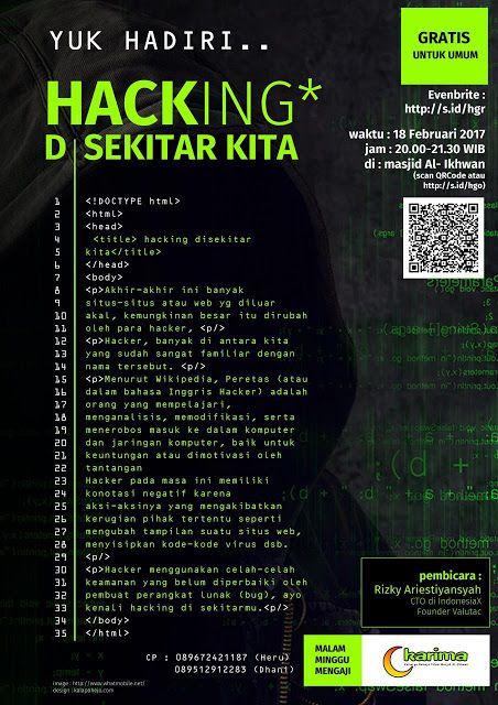 Kalapahejo Design Inspirasi Poster Hacking
