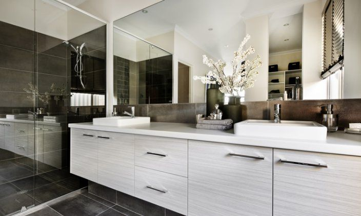 Simple Ensuite Vanity  Modern  Bathroom  Other  By NEXS Cabinets Inc