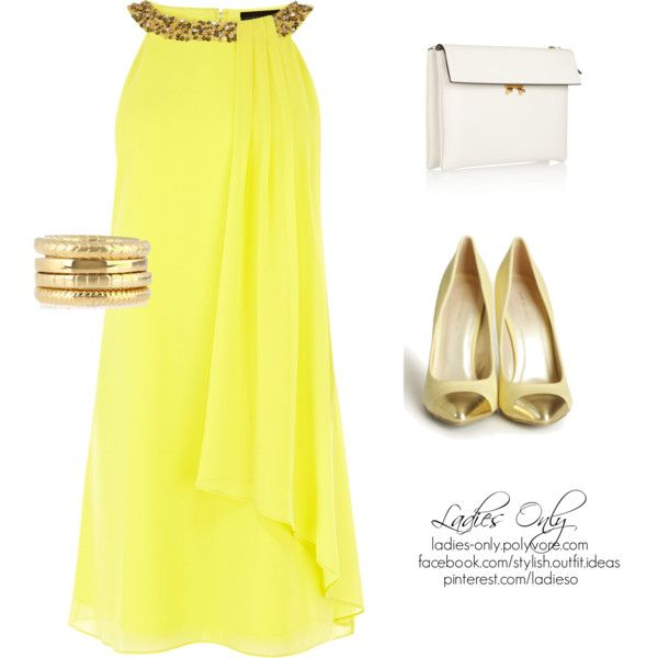 """yellow day"" by ladies-only on Polyvore"