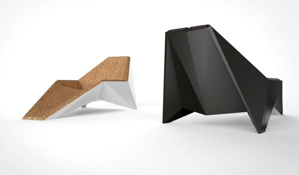 Xarp // Chaise Longue by Rui Silva, via Behance