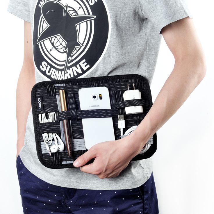 MyGeek Мобильного Телефона Мешок Цифровой Хранения сумки для iphone 5 6 plus путешествия сумка наушники зарядное устройство мобильного хранения плиты купить на AliExpress