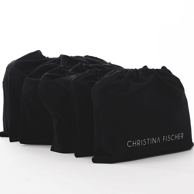 It has been a little quiet around here for awhile, for a good reason though - each of these dustbags contains a CHRISTINA FISCHER Autumn/Winter 15 style which I'm so excited to share with you all