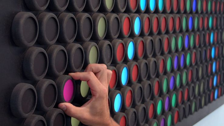 Everbright: A Giant Interactive Light Toy That's Like a Lite-Brite for Grown-Ups by Hero Design