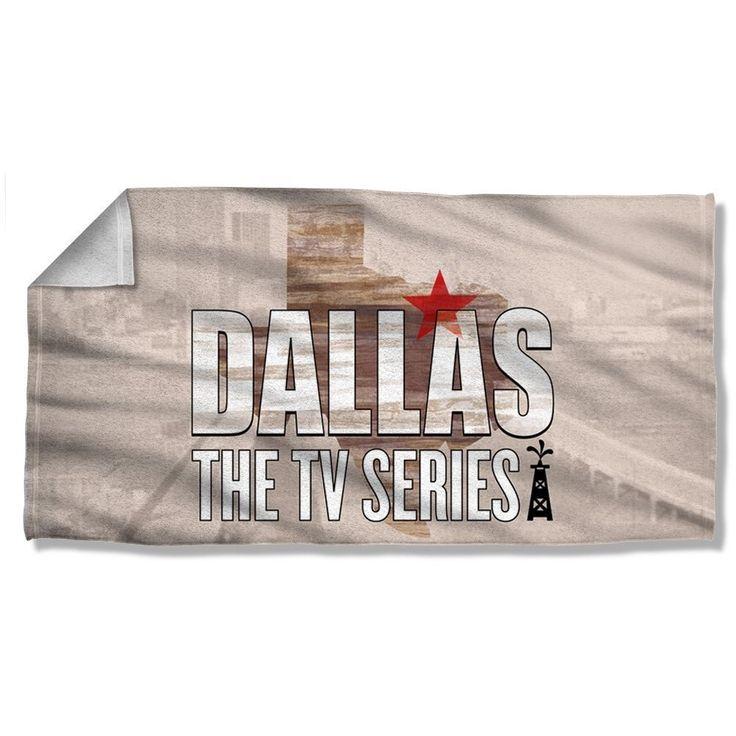 "Dallas TV Show Cast Licensed Beach Towel 30"" X 60"" #WB"