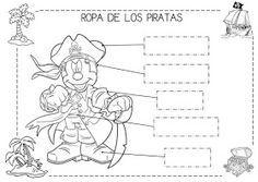 Mi grimorio escolar: LA ROPA DE LOS PIRATAS