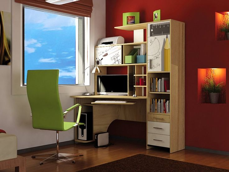 Компьютерный стол «Бэйсик Скул» в интернет-магазине «Любимый Дом» - lubidom.ru #lubidom
