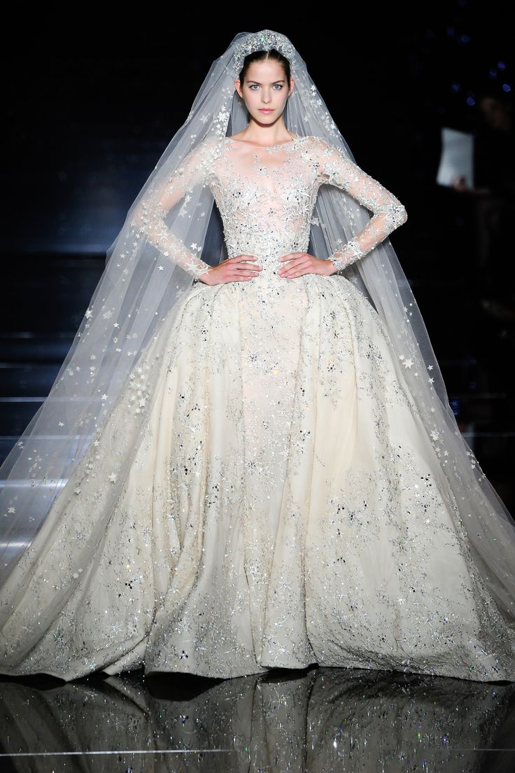 Winter Wedding Rocco Zuhair Murad Fall/Winter 2015-2016 Fashion Show