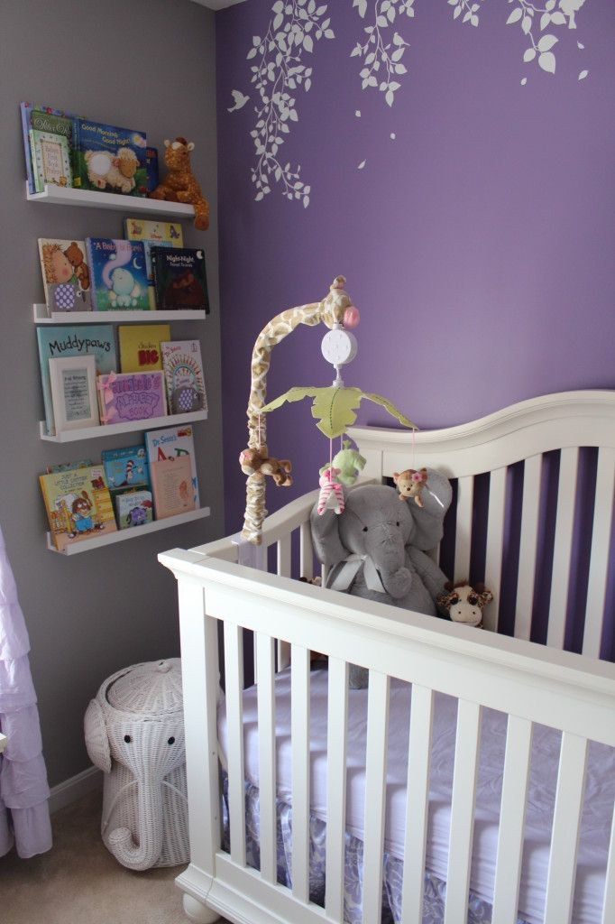 best 25 girl nursery purple ideas on pinterest baby girl nursery themes girl nursery themes. Black Bedroom Furniture Sets. Home Design Ideas