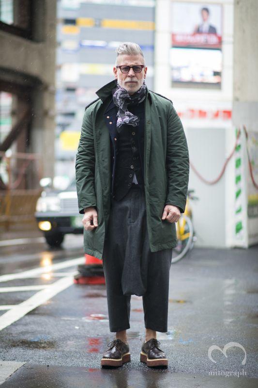 Nick Wooster at Japan Tokyo Fashion Week 2014 Fall Winter