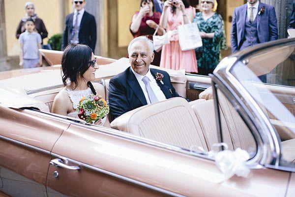 Un matrimonio anni �60: Chiara e Marco