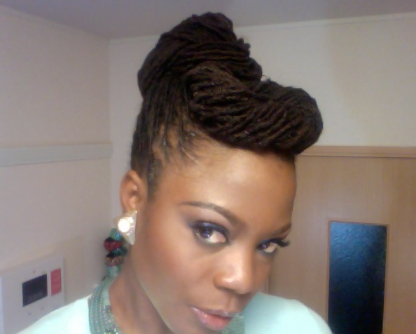 17 Best Images About Loc Updos On Pinterest