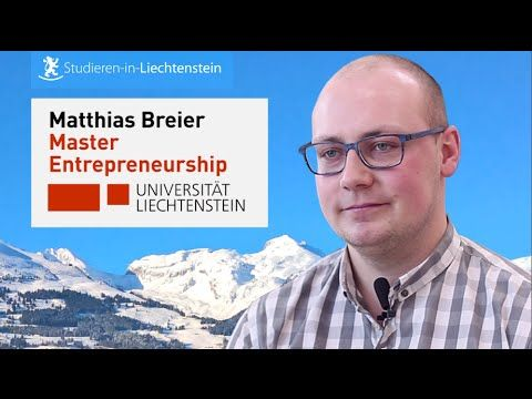 Master in Entrepreneurship BWL an der Universität Liechtenstein studieren
