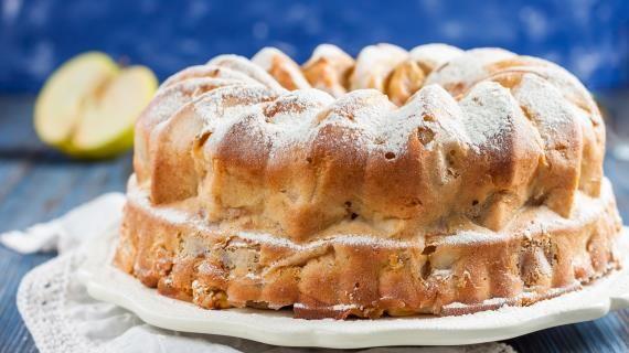 Самая яблочная шарлотка. Пошаговый рецепт с фото на Gastronom.ru