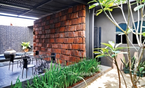 Terracota Roof For Exotic Wall