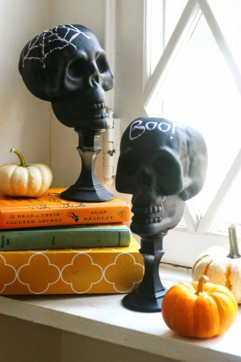 40 quick and easy diy halloween decorations - Craft Halloween Decorations