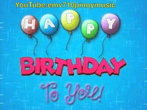 Happy Birthday To You! (Traditional) - YouTube