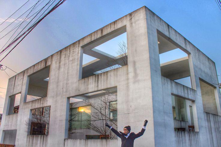 At House N, Oita designed by Sou Fujimoto :-)