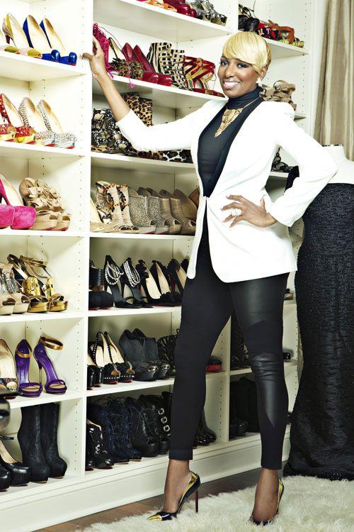 Nene-Leakes-White Blazer & Black Leggings for-Denim-Magazine-2 screaming redo