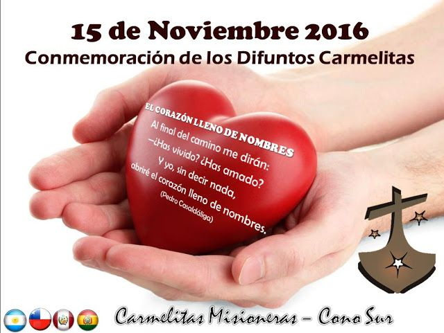 TRATAR ENTRE AMIGOS: Oramos por los y las  Carmelitas que nos han prece...