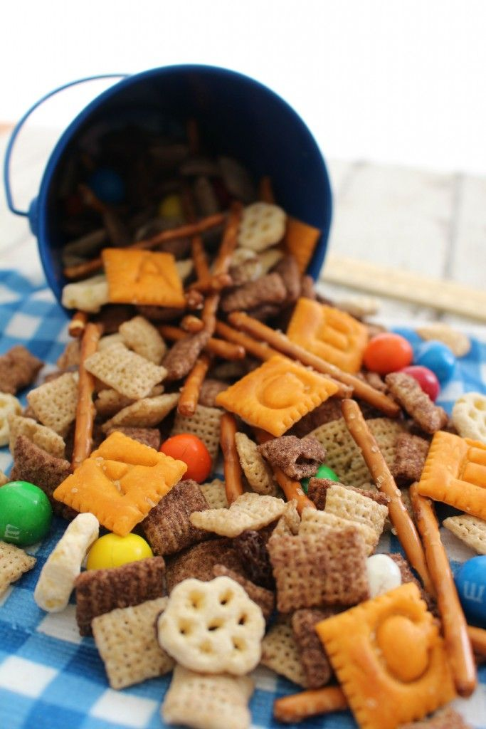 Back to School Snack Mix | Back to, Back to school and ...