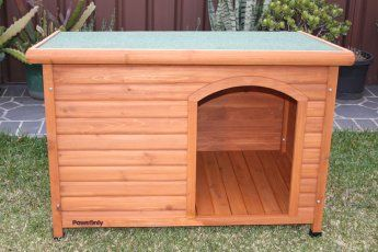 Small Wooden Dog House Comfort