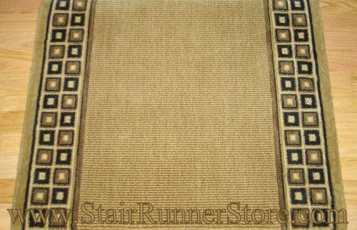 Best Nourison Cosmo Rib Stair Runner Chestnut 36 Carpet 400 x 300