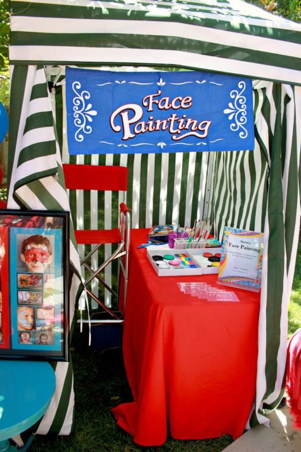Circus + Carnival Extravaganza Birthday Party - Kara's Party Ideas - The Place for All Things Party