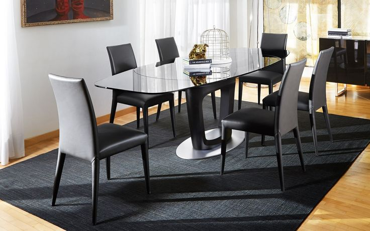 Calligaris Glass Dining Table is also a kind of Orbital Glass Dining Table…