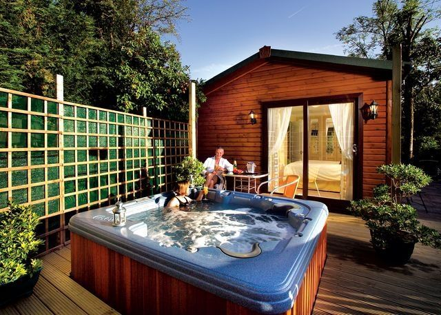 Trend Beach Cottages With Hot Tub Hot Tub Lodges With Hot Tubs Hot Tub Outdoor