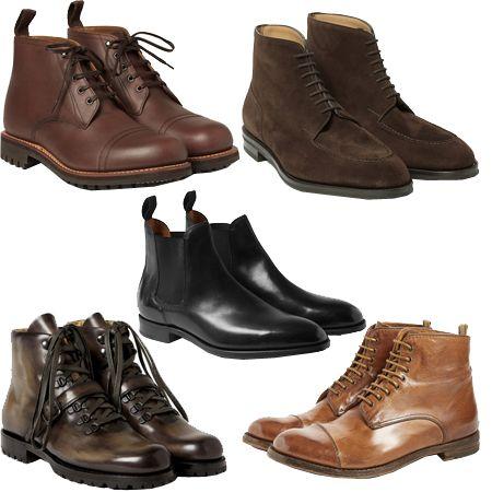 Мужские ботинки. Что выбрать и как носить?   Мужской журнал
