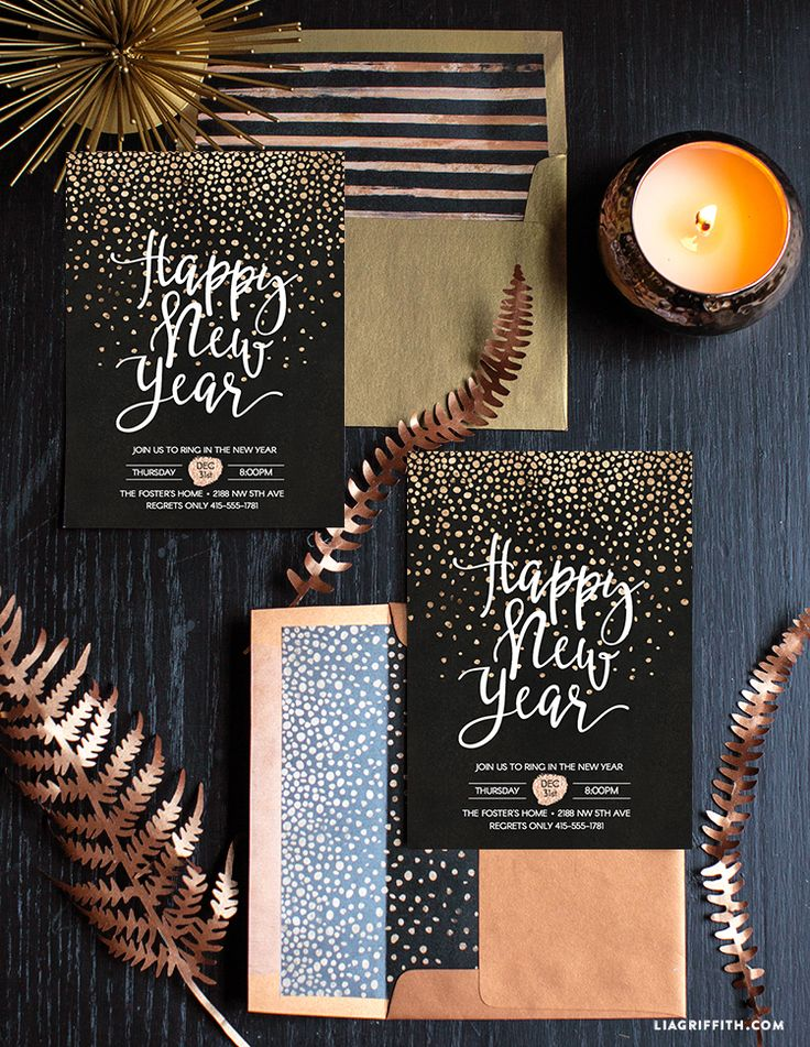 New_Years_Eve_Party_Invitation DIY FREE PRINTABLE NEW YEARS INVITES