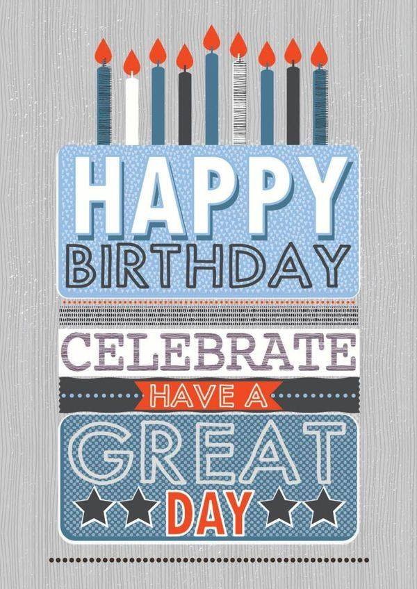 Happy Birthday men   Feliz cumpleaños, Frases de feliz ...