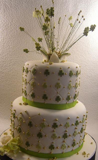 Ireland Themed Birthday Cakes  | 80th birthday cake | Flickr - Photo Sharing!