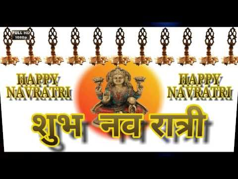 Navratri Wishes in Hindi,Shubh Navratri 2016,Greetings,Whatsapp Video,Messages,SMS - YouTube