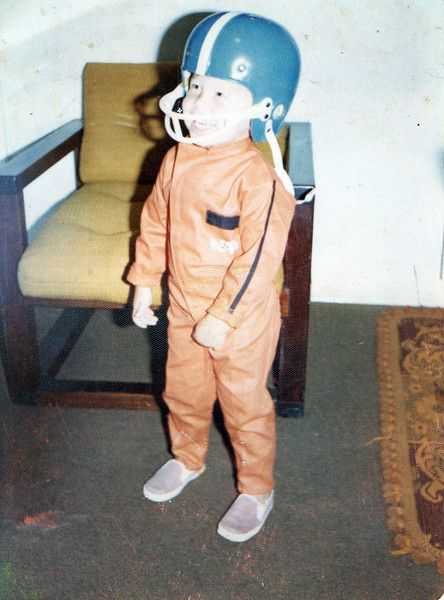 Courtesy Errol Musk A Two Year Old Elon Musk Wearing An