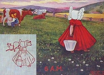 Quilt History.  An illustrated history of Sunbonnet Sue.