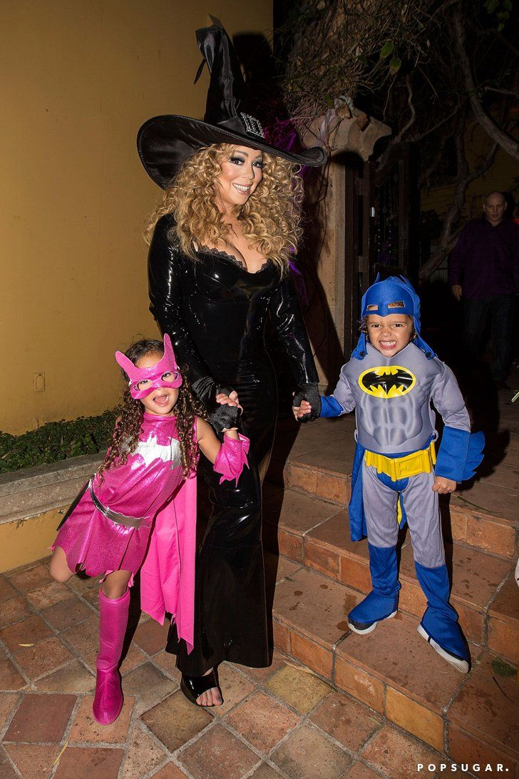 Pin for Later: Mariah Carey Has a Spooky Reunion With Ex-Husband Nick Cannon