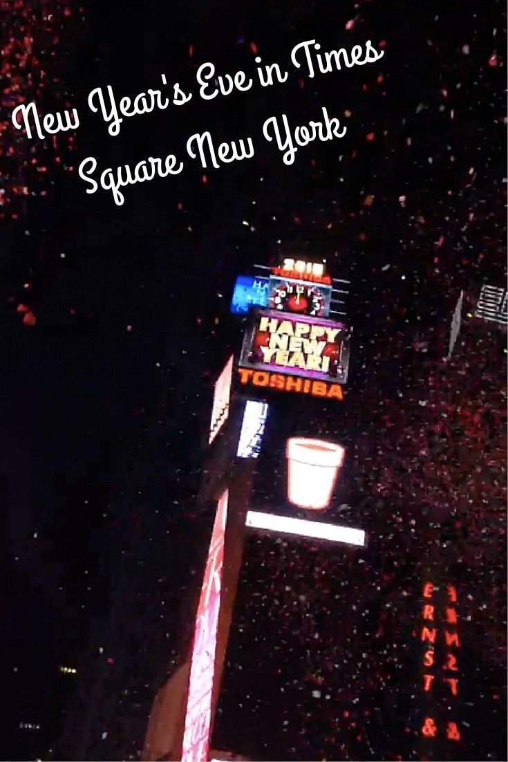 Looking for New Year's Eve plans? Why not spend the night ringing in the New Year in Times Square in New York City!