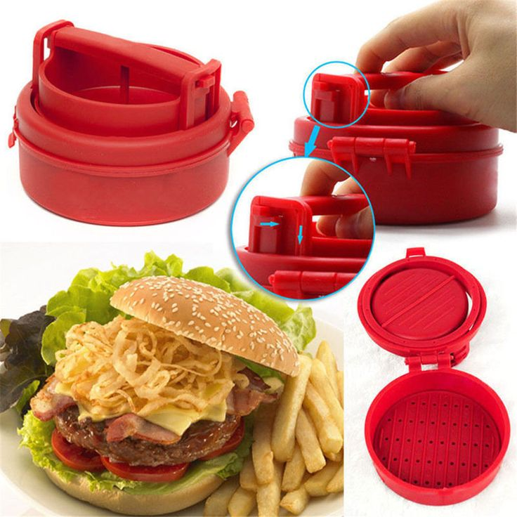 HOT Stuffed Burger Press Hamburger Grill BBQ Patty Maker Juicy As On TV A@ in Home, Furniture & DIY, Cookware, Dining & Bar, Food Preparation & Tools | eBay!