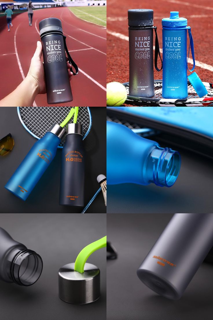 [Visit to Buy] Water Bottle Sport Bike Cycling Water Bottles For Water Portable Tea Infuser Plastic Bottle Tumbler garrafa de agua #Advertisement