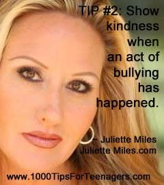 Juliette Miles' Tip for Teenagers #1000Tips4Teens