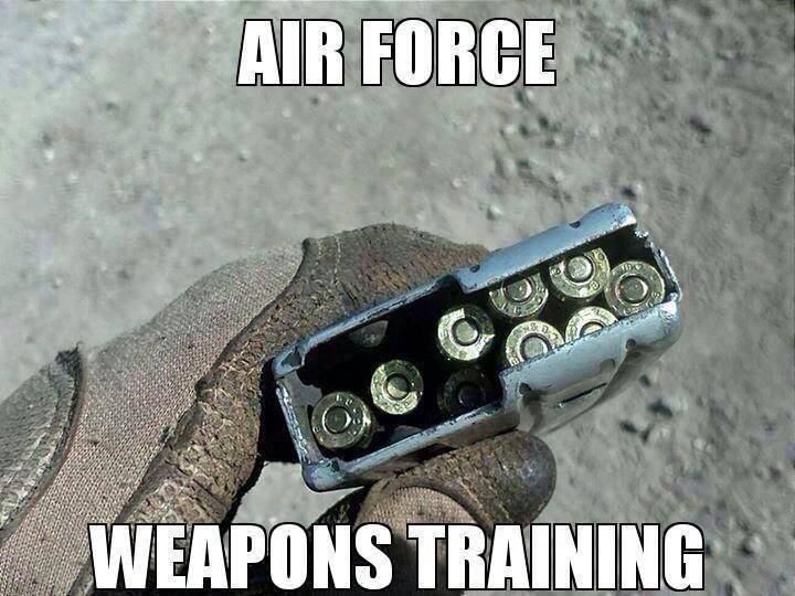 OutOfRegs - Archives | Air Force Weapons Training. Non military won't get this.